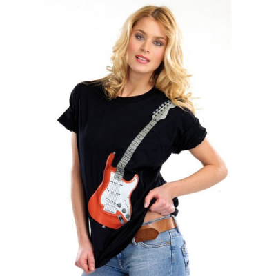 T-Shirt stylé rocker - Taille M