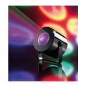 Spot de lumière multicolore 9 LED pour faire la fête à piles AAA