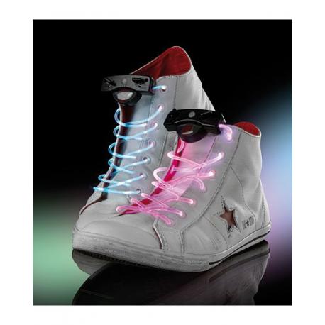 Lacets de chaussures à LED - Autonomie de 70 heures