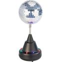 Boule à facettes motorisée - 8 LED multicolores