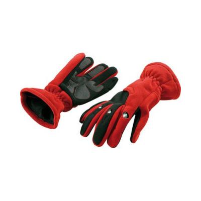 Gants polaires avec 3 LED - Taille M - Rouge