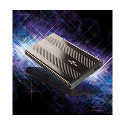 "Boîtier disque dur externe en aluminium 2,5"" USB 3.0 - SATA"