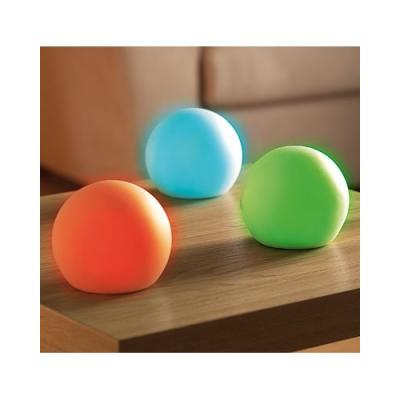 3 Boules lumineuses d'extérieur pour jardin ou terrasse de 16 couleurs différentes - Diamètre : 110 mm