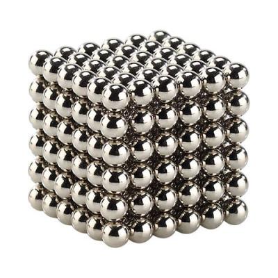 216 billes aimantées en néodyme - Cube magnétique