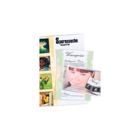 25 Pochettes De Plastification Format Carte Visite 125Mic