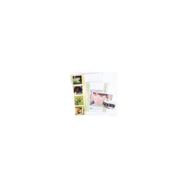 25 Pochettes De Plastification Format Carte Visite 80Mic