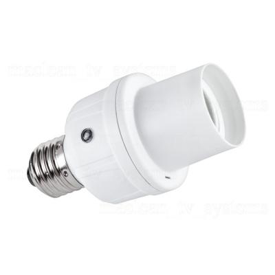 Douille de lampe E27 avec capteur de son et de lumière