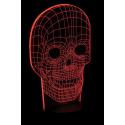 Motifs pour déco lumineuse style hologrammes multicolores lunartec