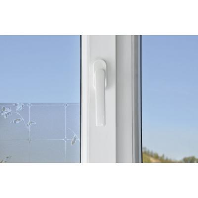 Sticker opaque auto-adhésif reliefs pour fenêtres et vitres de séparation
