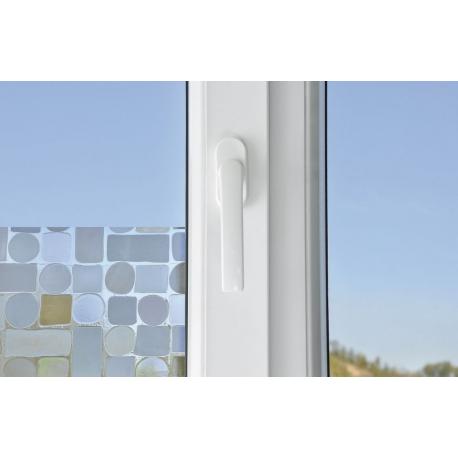 Décoration Pour Fenêtre Et Vitre Auto Adhésif Effet Rideau 200 X 40 Cm