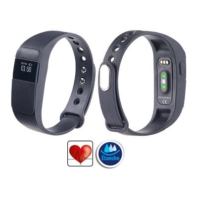 Bracelet tracker fitness capteur rythme cardiaque et notifications