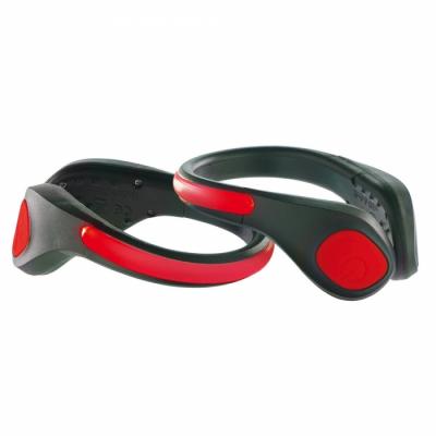 Clips lumineux pour chaussures pour visibilité running et vélo