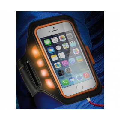 Brassard running pour iphone 5 et smartphone lampe led