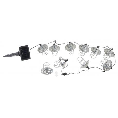 guirlande tanche d 39 ext rieur solaire mini lanternes led. Black Bedroom Furniture Sets. Home Design Ideas