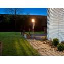 Torche de jardin en inox mèche fibre de verre royal gardineer