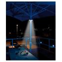 Lampe led pour parasol (ø 32 à 52 mm) télécommande