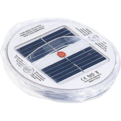 Lanterne d'extérieur solaire flottante pour piscine et bassin de jardin