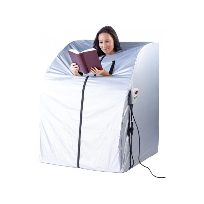 sauna infrarouge portable 1 personne pas cher 2 radiateurs. Black Bedroom Furniture Sets. Home Design Ideas