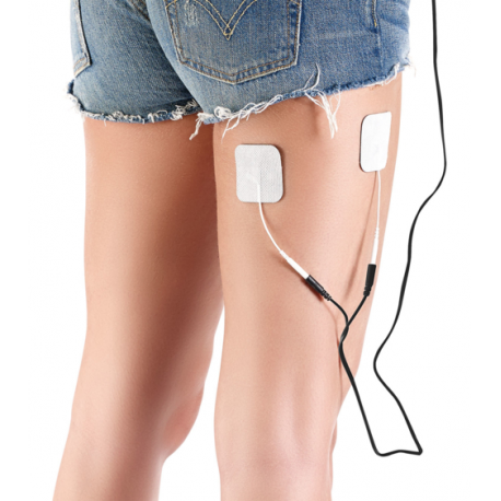 """4 électrodes supplémentaires pour appareil d'électrostimulation """"esg-6015"""""""