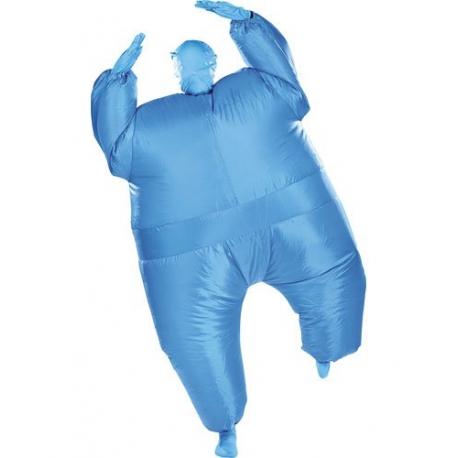 costume gonflable bleu d guisement rapide et pas cher. Black Bedroom Furniture Sets. Home Design Ideas