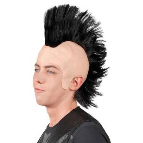 Prix perruque de deguisement punk crete moins