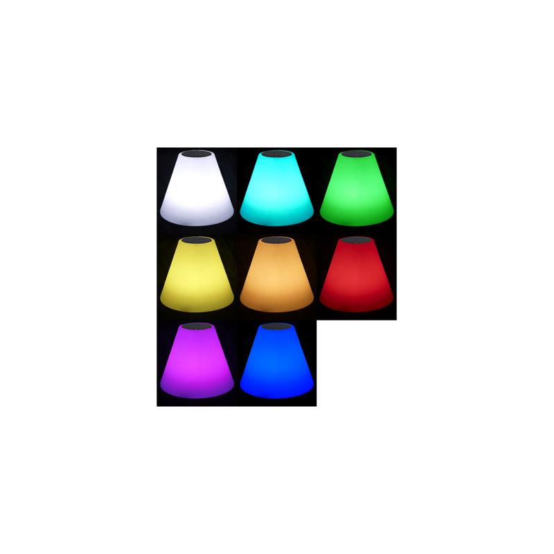 Solaire Couleurs Pikzoxu Et Enceinte Lampe Sur Led D'extérieur Pied 5jq4LA3R
