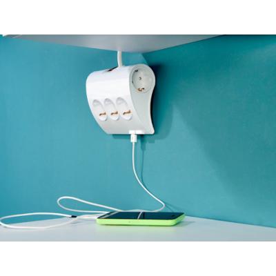 multiprise 5 prises t l commande sans fil ibiza light. Black Bedroom Furniture Sets. Home Design Ideas
