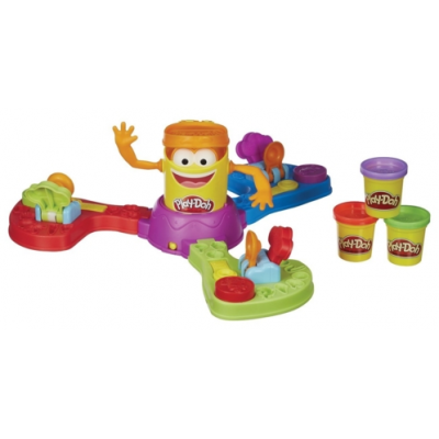 Jeu de société enfant pâte à modeler play-doh gob'fou