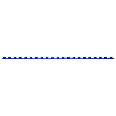 Pack de 100 anneaux / peignes pour relieuse a4, formats 6 à 20 mm