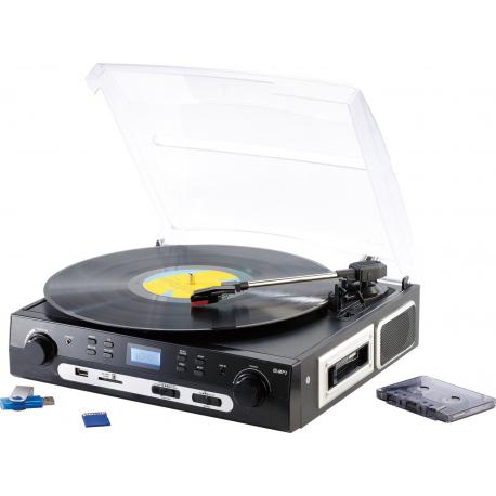 acheter tourne disque lecteur cassette usb enregistreur mp3. Black Bedroom Furniture Sets. Home Design Ideas