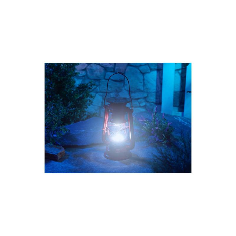 D'extérieur Chargeur Solaire Lampe Style Tempête Lunartec Nw8n0Omvy