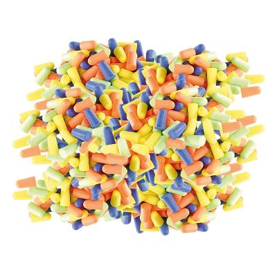 Bouchons d'oreilles jetables et mousse, atténuation 33 db, 4 couleurs