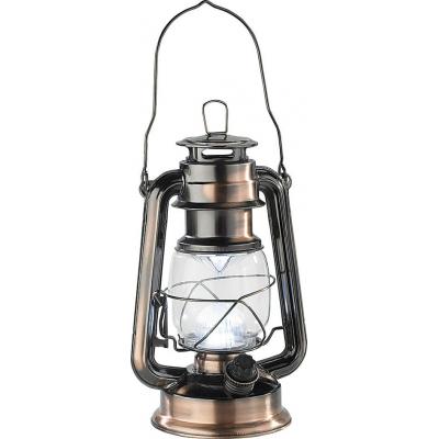 Lanterne d'extérieur à led, design marin rétro 'tempête'