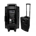 Enceinte sono 700 w mobile 2 micros, lecteur mp3 et bluetooth