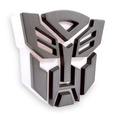 Lampe déco led 'logo autobot' transformers : déco geek