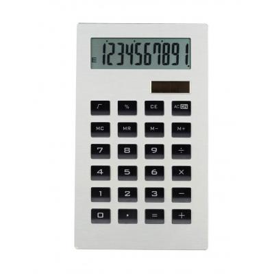 Calculatrice solaire et à piles clip sonic cl 100 ultra-plate