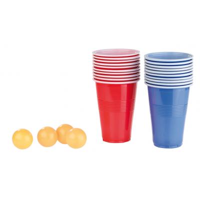 Pack bière pong 60 gobelets americains et 5 balles