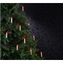10 bougies de noël à led rvb télécommande infrarouge
