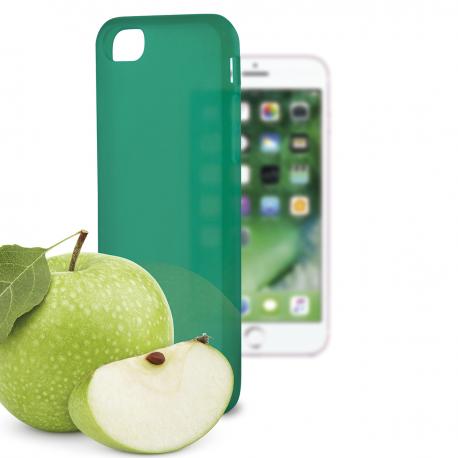 coque iphone 7 vert pomme